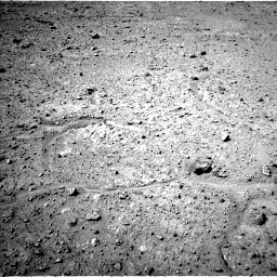 Nasa's Mars rover Curiosity acquired this image using its Left Navigation Camera on Sol 595, at drive 516, site number 31