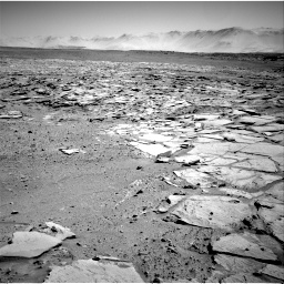 Nasa's Mars rover Curiosity acquired this image using its Right Navigation Camera on Sol 595, at drive 216, site number 31