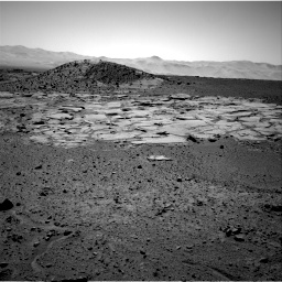 Nasa's Mars rover Curiosity acquired this image using its Right Navigation Camera on Sol 595, at drive 252, site number 31