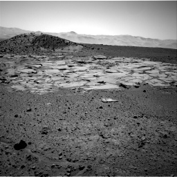 Nasa's Mars rover Curiosity acquired this image using its Right Navigation Camera on Sol 595, at drive 276, site number 31