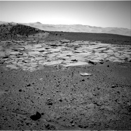 Nasa's Mars rover Curiosity acquired this image using its Right Navigation Camera on Sol 595, at drive 282, site number 31