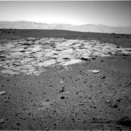 Nasa's Mars rover Curiosity acquired this image using its Right Navigation Camera on Sol 595, at drive 300, site number 31