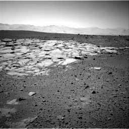 Nasa's Mars rover Curiosity acquired this image using its Right Navigation Camera on Sol 595, at drive 312, site number 31