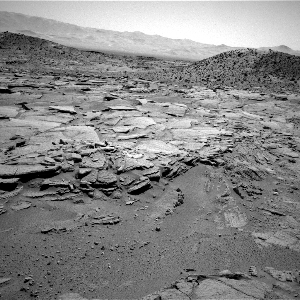 Nasa's Mars rover Curiosity acquired this image using its Right Navigation Camera on Sol 595, at drive 318, site number 31