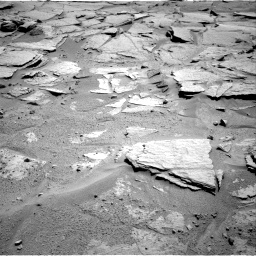 Nasa's Mars rover Curiosity acquired this image using its Right Navigation Camera on Sol 595, at drive 336, site number 31