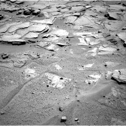 Nasa's Mars rover Curiosity acquired this image using its Right Navigation Camera on Sol 595, at drive 342, site number 31
