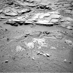 Nasa's Mars rover Curiosity acquired this image using its Right Navigation Camera on Sol 595, at drive 354, site number 31
