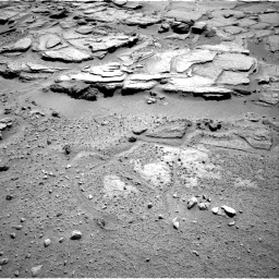 Nasa's Mars rover Curiosity acquired this image using its Right Navigation Camera on Sol 595, at drive 360, site number 31