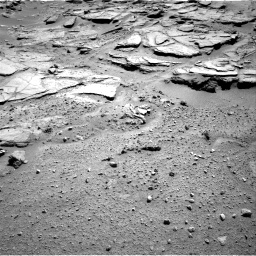 Nasa's Mars rover Curiosity acquired this image using its Right Navigation Camera on Sol 595, at drive 372, site number 31
