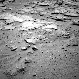 Nasa's Mars rover Curiosity acquired this image using its Right Navigation Camera on Sol 595, at drive 378, site number 31