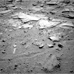 Nasa's Mars rover Curiosity acquired this image using its Right Navigation Camera on Sol 595, at drive 384, site number 31