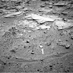 Nasa's Mars rover Curiosity acquired this image using its Right Navigation Camera on Sol 595, at drive 390, site number 31
