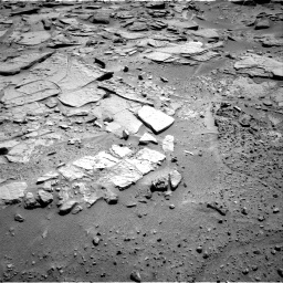 Nasa's Mars rover Curiosity acquired this image using its Right Navigation Camera on Sol 595, at drive 408, site number 31