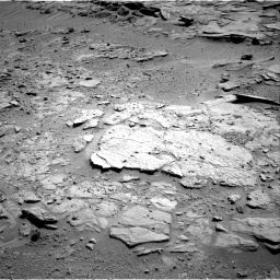 Nasa's Mars rover Curiosity acquired this image using its Right Navigation Camera on Sol 595, at drive 438, site number 31
