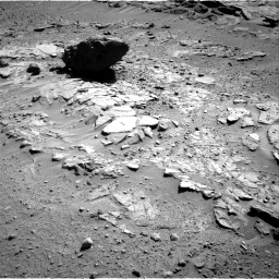Nasa's Mars rover Curiosity acquired this image using its Right Navigation Camera on Sol 595, at drive 450, site number 31