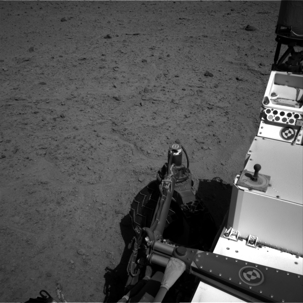 Nasa's Mars rover Curiosity acquired this image using its Right Navigation Camera on Sol 595, at drive 492, site number 31