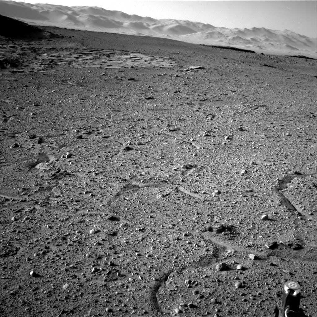 Nasa's Mars rover Curiosity acquired this image using its Right Navigation Camera on Sol 595, at drive 538, site number 31