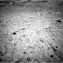 Nasa's Mars rover Curiosity acquired this image using its Left Navigation Camera on Sol 597, at drive 550, site number 31