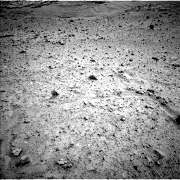 Nasa's Mars rover Curiosity acquired this image using its Left Navigation Camera on Sol 597, at drive 580, site number 31