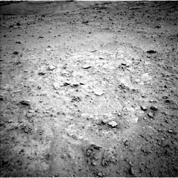Nasa's Mars rover Curiosity acquired this image using its Left Navigation Camera on Sol 597, at drive 622, site number 31