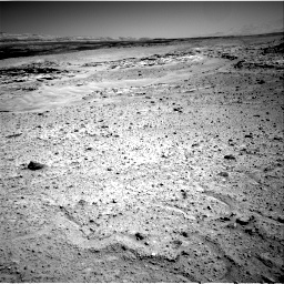 Nasa's Mars rover Curiosity acquired this image using its Right Navigation Camera on Sol 597, at drive 538, site number 31
