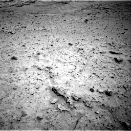 Nasa's Mars rover Curiosity acquired this image using its Right Navigation Camera on Sol 597, at drive 586, site number 31