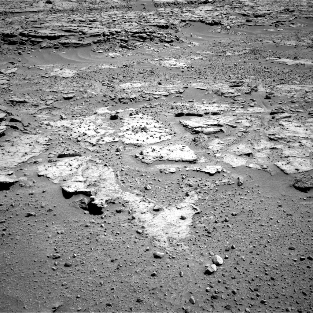 Nasa's Mars rover Curiosity acquired this image using its Right Navigation Camera on Sol 597, at drive 634, site number 31
