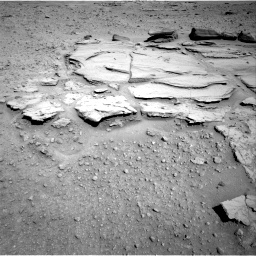 Nasa's Mars rover Curiosity acquired this image using its Right Navigation Camera on Sol 597, at drive 658, site number 31