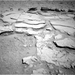 Nasa's Mars rover Curiosity acquired this image using its Right Navigation Camera on Sol 597, at drive 664, site number 31