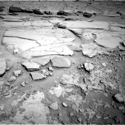 Nasa's Mars rover Curiosity acquired this image using its Right Navigation Camera on Sol 597, at drive 682, site number 31