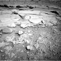 Nasa's Mars rover Curiosity acquired this image using its Right Navigation Camera on Sol 597, at drive 688, site number 31