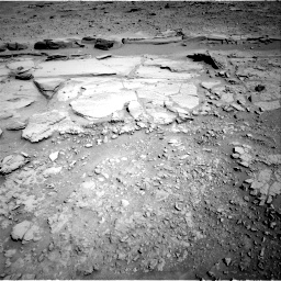 Nasa's Mars rover Curiosity acquired this image using its Right Navigation Camera on Sol 597, at drive 694, site number 31