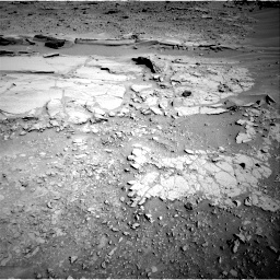 Nasa's Mars rover Curiosity acquired this image using its Right Navigation Camera on Sol 597, at drive 700, site number 31