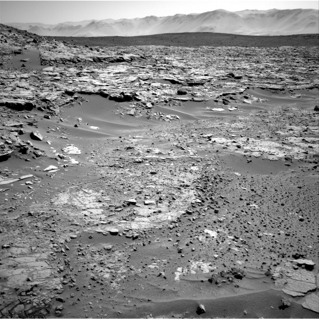 Nasa's Mars rover Curiosity acquired this image using its Right Navigation Camera on Sol 597, at drive 718, site number 31