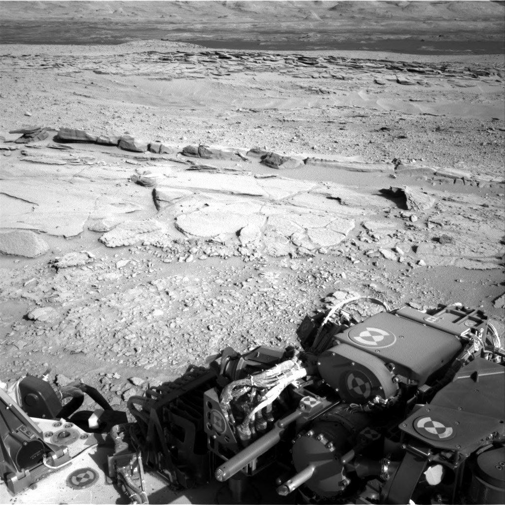Nasa's Mars rover Curiosity acquired this image using its Right Navigation Camera on Sol 597, at drive 724, site number 31