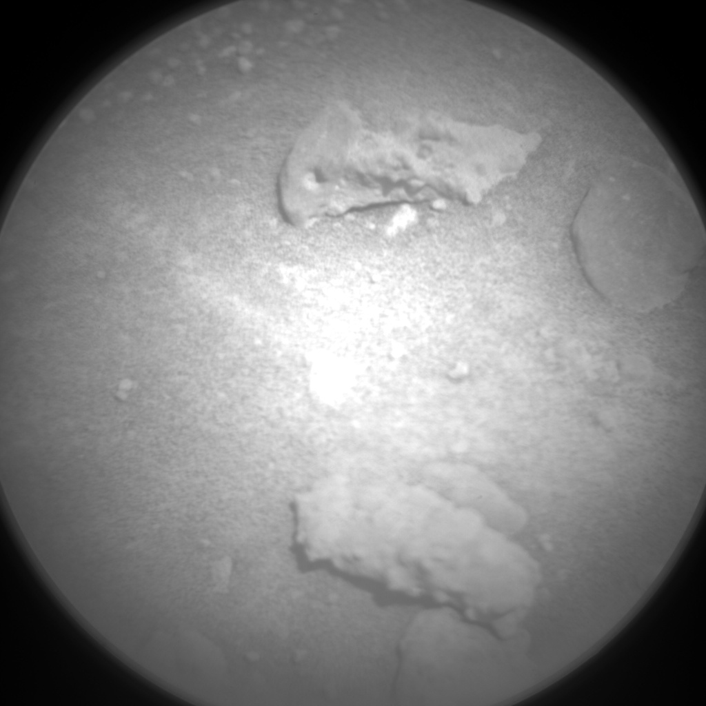 Nasa's Mars rover Curiosity acquired this image using its Chemistry & Camera (ChemCam) on Sol 601, at drive 724, site number 31
