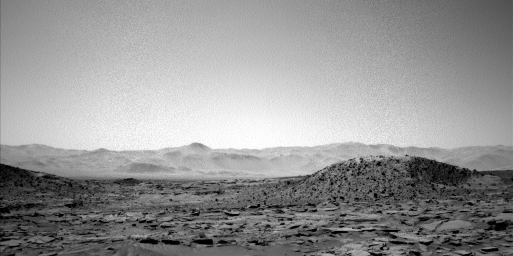 Nasa's Mars rover Curiosity acquired this image using its Left Navigation Camera on Sol 601, at drive 724, site number 31