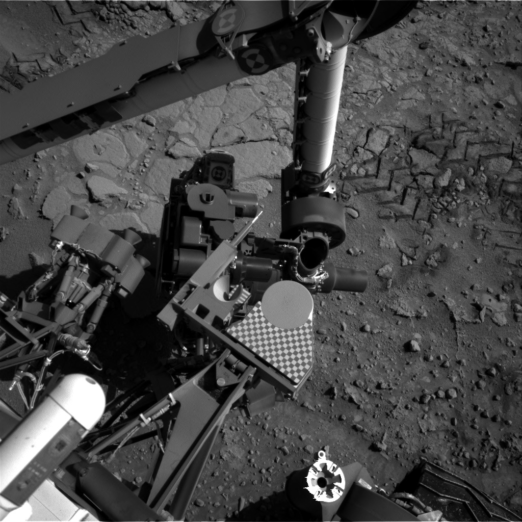 Nasa's Mars rover Curiosity acquired this image using its Right Navigation Camera on Sol 601, at drive 724, site number 31