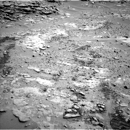 Nasa's Mars rover Curiosity acquired this image using its Left Navigation Camera on Sol 603, at drive 754, site number 31