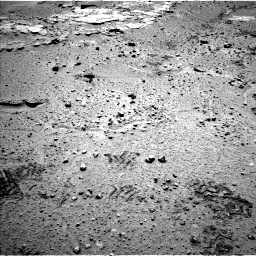 Nasa's Mars rover Curiosity acquired this image using its Left Navigation Camera on Sol 603, at drive 814, site number 31
