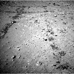 Nasa's Mars rover Curiosity acquired this image using its Left Navigation Camera on Sol 603, at drive 940, site number 31