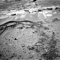 Nasa's Mars rover Curiosity acquired this image using its Left Navigation Camera on Sol 603, at drive 976, site number 31