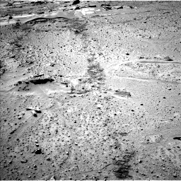 Nasa's Mars rover Curiosity acquired this image using its Left Navigation Camera on Sol 603, at drive 1030, site number 31