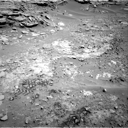 Nasa's Mars rover Curiosity acquired this image using its Right Navigation Camera on Sol 603, at drive 736, site number 31