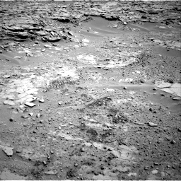Nasa's Mars rover Curiosity acquired this image using its Right Navigation Camera on Sol 603, at drive 748, site number 31