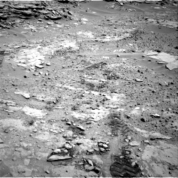 Nasa's Mars rover Curiosity acquired this image using its Right Navigation Camera on Sol 603, at drive 754, site number 31