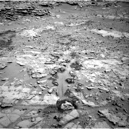 Nasa's Mars rover Curiosity acquired this image using its Right Navigation Camera on Sol 603, at drive 766, site number 31