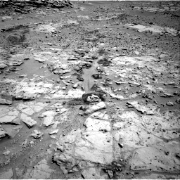 Nasa's Mars rover Curiosity acquired this image using its Right Navigation Camera on Sol 603, at drive 772, site number 31