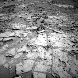 Nasa's Mars rover Curiosity acquired this image using its Right Navigation Camera on Sol 603, at drive 778, site number 31