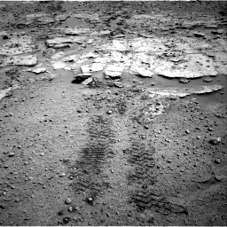 Nasa's Mars rover Curiosity acquired this image using its Right Navigation Camera on Sol 603, at drive 796, site number 31